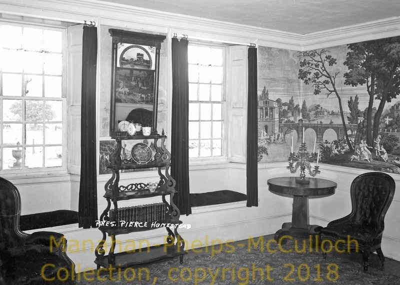 'Franklin Pierce HomesteadpostcardHillsborough Town'